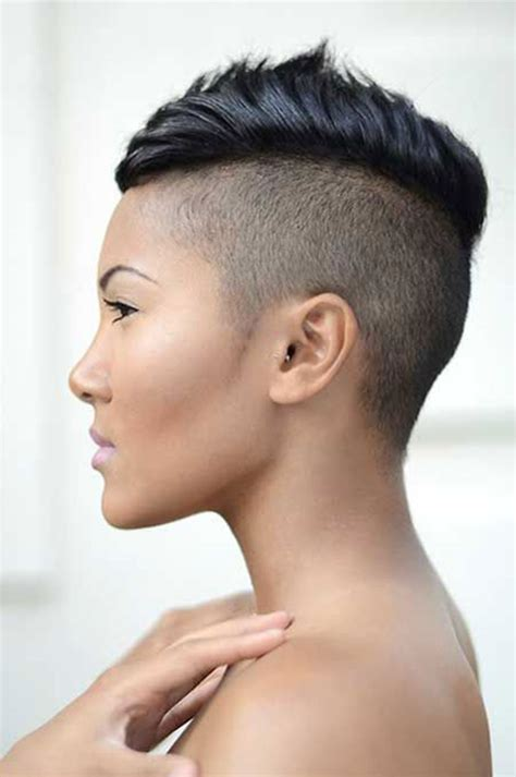 how to cut female hair with short sides and long top 52 of the best shaved side hairstyles