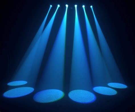 Stage Light Fixtures Chauvet Dj 6spot Led Stage Light New