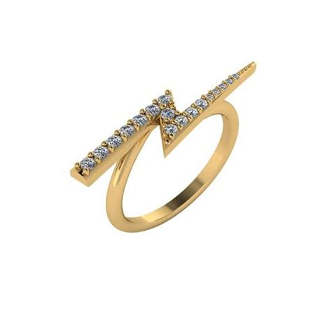 lightning bolt ring berkley jewelry