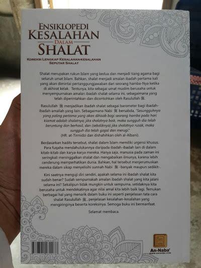 Vcd Sifat Shalat Nabi Edisi Kartun buku ensiklopedi kesalahan dalam shalat