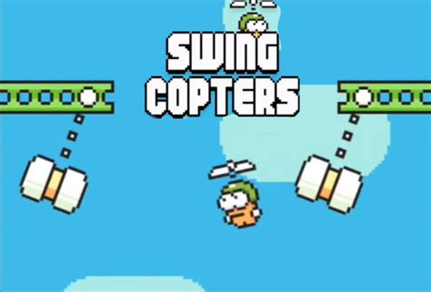 flappy bird swing copters flappy bird sequel swing copters hits smartphones this
