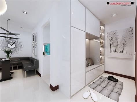 Hdb Elegant Shoe Cabinet With Settee At Blk 889b Woodlands