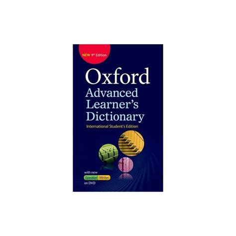 Oxford Advanced Leaners Dictionary oxford advanced learner s dictionary 9th edition international student s edition dvd rom