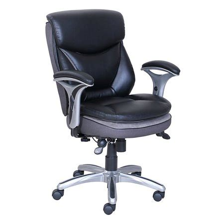 smart layers verona manager chair blacksilver walmartcom