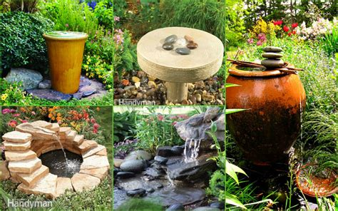Garden Water Fountains Ideas Image Gallery Outdoor Water Ideas