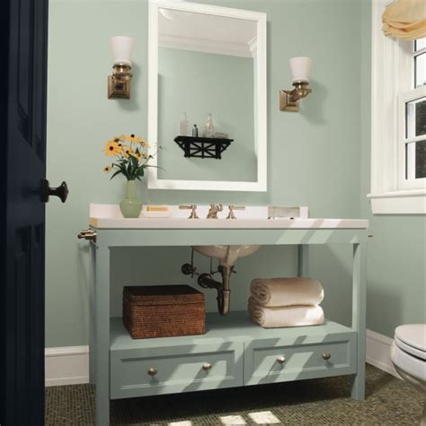 small space check out these top paint colors from ppg glidden olympic kid bathrooms