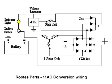 interav alternator wiring diagram plane power voltage