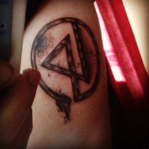 linkin park tattoos grey linkin park symbol