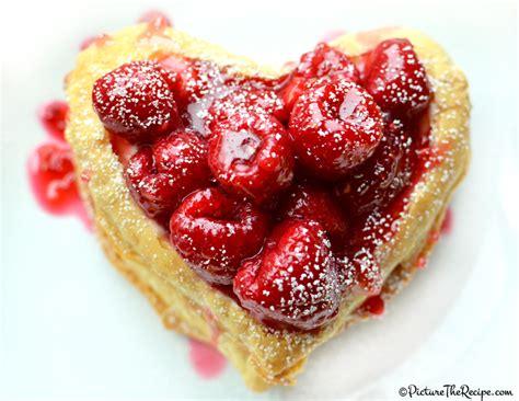 valentines day desert raspberry napoleon picture the recipe