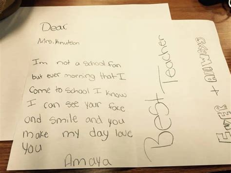 thank you letter to 4th grade 30 thank you notes that make it all worthwhile