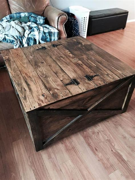 project table with storage 14 creative pallet furniture ideas