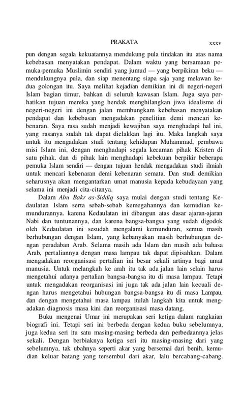 Jejak Langkah Umar Bin Khattab biografi umar bin khattab