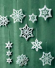 martha stewart wax snow flakes