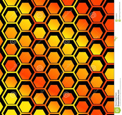 honeycomb seamless pattern royalty free vector image seamless honeycomb pattern vector stock vector image 35168093