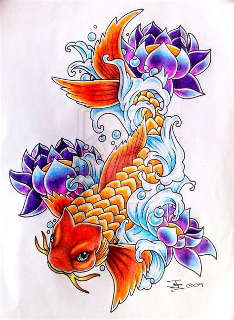 tattoo flash koi fish koi carp tattoo flash