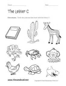 free worksheet letter c worksheets preschool phinixi com