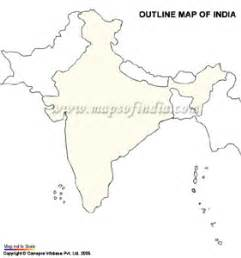 India Outline Map For Printing by India Plane Map