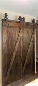 Bypass Barn Door Hardware Bypass Vintage Spoked Sliding Barn Door Closet Hardware