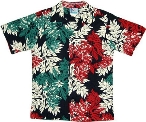 printable hawaiian snowflakes boy s rayon shirt hawaiian christmas snowflake boy s