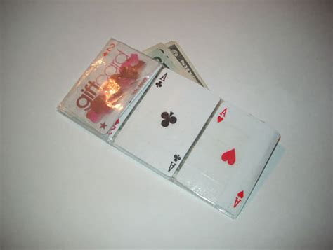 how to make a wallet out of cards how to do stuff how to make a wallet out of cards