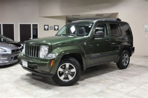 Jeep Liberty With Sky Slider For Sale Sell Used 2008 Jeep Liberty Sport V6 Sky Slider Open