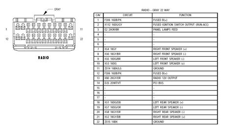 2002 jeep tj radio wiring diagram wiring