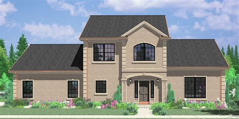 two story house plans with side garage two story house plans 3 bedroom house plans master on the main