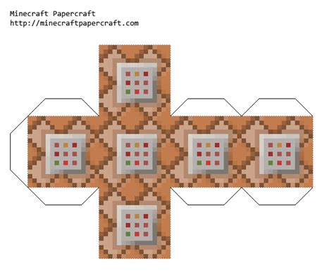 Minecraft Block Papercraft - paper ocelot minecraft papercrafts