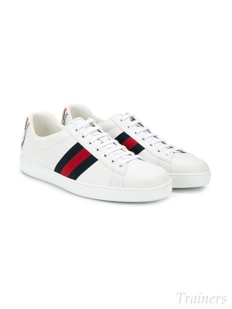 low top sneakers mens high discount mens exclusive trainers l68w gucci ace