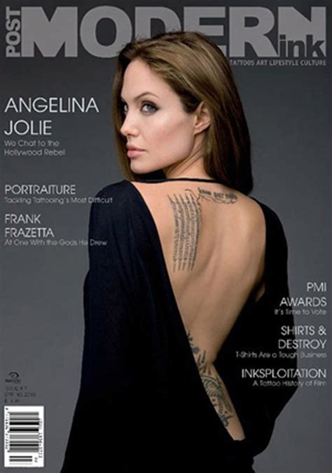 angelina jolie tattoo znaczenie tat s crazy angelina jolie had some high times in