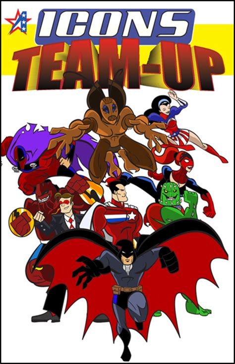 icons superpowered roleplaying the assembled edition books icons team up now available adamant entertainment
