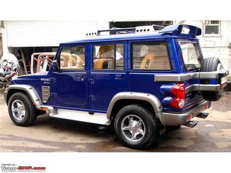 Mahindra Bolero Slx Interior Bolero Xlusiv By Mahindra Customization Team Bhp
