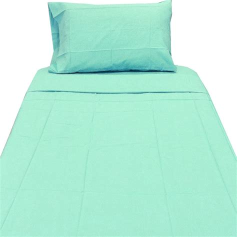 longs bedding light turquoise twin xl sheet set contemporary