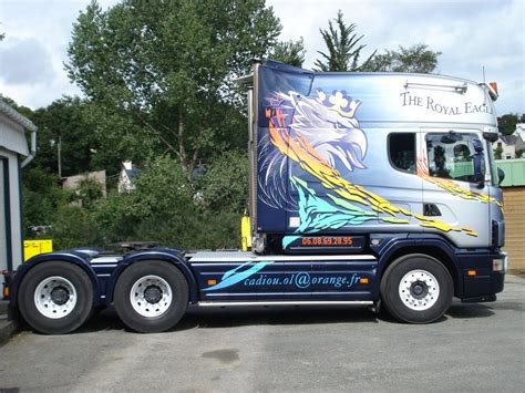 scania v8 6x4 longline 164g580 tractor unit from