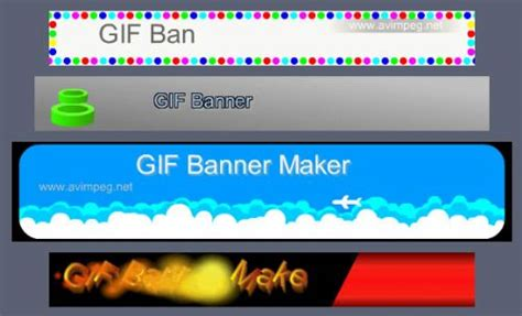 animated banner template free animated web banner generators search engine