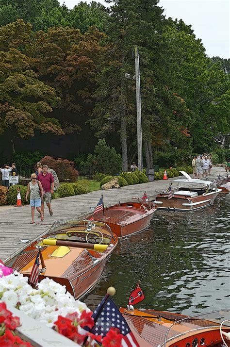 wooden boat show at lake mohawk nj classic wooden - Lake Mohawk Boat Rental