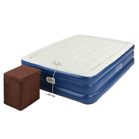 aerobed 2000014113 raised air bed mattress with ottoman ebay