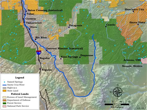 where does the colorado river start and end santa river