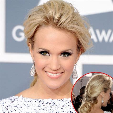 Make Up Dan Hair Do Carrie Underwood Without Makeup Carrie Underwood S Hair