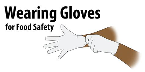 Should Food Servers Wear Gloves by Wearing Gloves For Food Safety