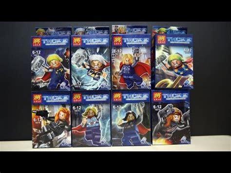 Lego Lele Iron 45 Bootleg Lego Marvel Superheroes Thor Lele Bootleg Review