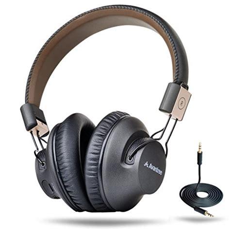 Unique Headphone Headset Stereo For Smartphone Mic Tv 12 Bass avantree 40 hr wireless bluetooth 4 1 the ear foldable headphones headset with mic aptx