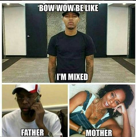 Bow Meme - memes about bow wow not voting because he s mixed hiphopdx