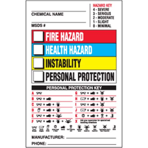 secondary container label template hazcom labels on a roll chemical name hazcom label seton