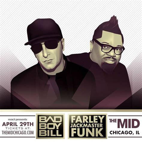king of house music this friday bad boy bill and the king of house music farley jackmaster funk at the