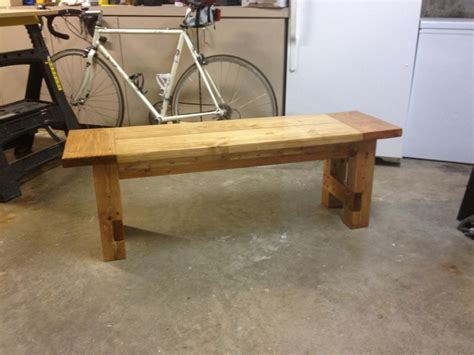 rustic bench plans free plans for making a rustic farmhouse table bench a