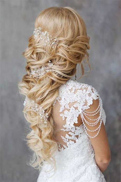hairstyles for long hair brides 35 best hairstyles for brides long hairstyles 2017