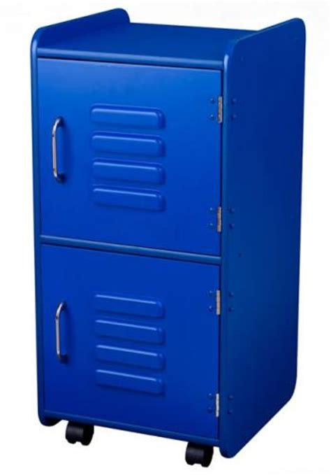 Bedroom Locker Storage by Bedroom Storage Locker In Blue