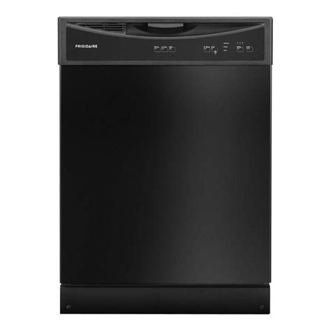 frigidaire front dishwasher in black shop your