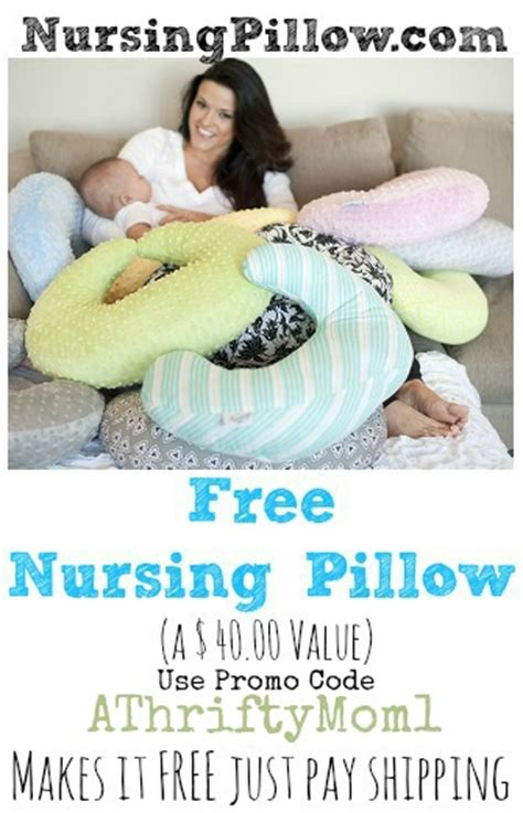 Pillow Coupons by Free Nursing Pillow From Nursingpillow Use Promo Code Athriftymom1